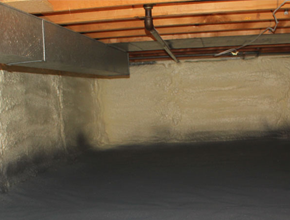 crawl space spray insulation for Pennsylvania